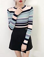 cheap -Women's Basic Pullover - Striped