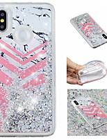 economico -Custodia Per Xiaomi Redmi Note 5 Pro / Mi 8 Liquido a cascata / Fantasia / disegno / Glitterato Per retro Glitterato / Effetto marmo Morbido TPU per Xiaomi Redmi Note 5 Pro / Xiaomi Redmi Note 4X