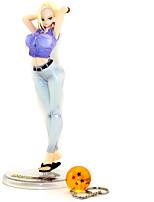 baratos -Figuras de Ação Anime Inspirado por Dragon ball Célula PVC 21 cm CM modelo Brinquedos Boneca de Brinquedo
