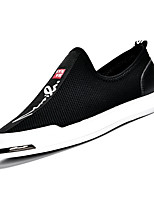 cheap -Men's Mesh Fall Comfort Loafers & Slip-Ons Walking Shoes Black