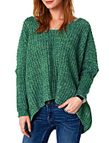 cheap -Women's Street chic Pullover - Solid Colored