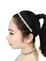 cheap -Dance Accessories Boutique Women's Performance Metal / Silver Criss-Cross / Crystals / Rhinestones Fashion / All Occasions