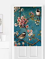 abordables -Puerta Panel Cortinas cortinas Cocina Floral / Contemporáneo Algodón / Poliéster Impreso