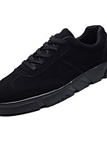 cheap -Men's Suede Fall Comfort Sneakers White / Black / Black / White