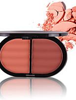 abordables -2 couleurs Poudres Rougir 1 pcs Longue Durée / Naturel Rougir / Visage Chine Moderne / Mode Facile à Utiliser / durable Fête de Mariage / Usage quotidien / Rendez-vous Maquillage Cosmétique