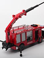 Недорогие -Игрушечные машинки Пожарная машина Транспорт Вид на город Cool утонченный Металл Для подростков Все Мальчики Девочки Игрушки Подарок 1 pcs