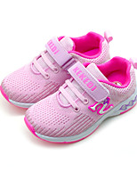 cheap -Girls' Shoes Mesh / PU(Polyurethane) Spring & Summer Comfort Athletic Shoes Walking Shoes for Kids Purple / Pink