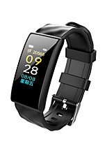 cheap -Smart Bracelet Smartwatch YY-M8 for Android iOS Bluetooth Waterproof Heart Rate Monitor Blood Pressure Measurement Touch Screen Calories Burned Pedometer Call Reminder Activity Tracker Sleep Tracker