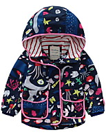 cheap -Toddler Girls' Solid Colored / Floral Long Sleeve Suit & Blazer
