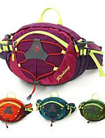 cheap -8 L Hiking Waist Bag - Rain-Proof, Wearable Outdoor Travel, Fitness, Jogging Nylon Purple, Green, Blue