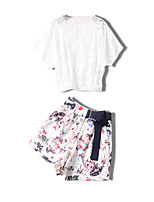 cheap -Miss French Women's Set - Floral Skirt