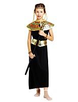 preiswerte -Seeräuber Austattungen Mädchen Halloween / Karneval / Kindertag Fest / Feiertage Halloween Kostüme Schwarz Solide / Halloween Halloween