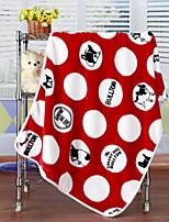 baratos -Velocino de Coral, Estampado Desenho Animado Algodão cobertores