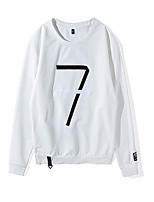 cheap -Men's Long Sleeve Sweatshirt - Letter