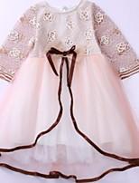 cheap -Kids Girls' Floral 3/4 Length Sleeve Dress