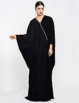 abordables -Abaya Femme - Couleur Pleine Chic de Rue / Sophistiqué énorme