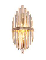 baratos -QIHengZhaoMing Cristal LED / Moderno / Contemporâneo Luminárias de parede Lojas / Cafés / Escritório Metal Luz de parede 110-120V / 220-240V 3 W