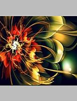 baratos -Estampado Estampados de Lonas Esticada - Fantasia / Floral / Botânico Modern