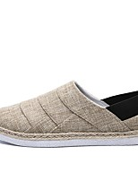 cheap -Men's Canvas Summer Comfort Loafers & Slip-Ons Black / Yellow / Blue