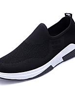 cheap -Men's Shoes Mesh Fall Comfort Loafers & Slip-Ons Black / Dark Blue / Gray