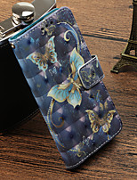 cheap -Case For Huawei P20 Pro / P20 lite Card Holder / with Stand / Flip Full Body Cases Butterfly Hard PU Leather for Huawei P20 / Huawei P20 Pro / Huawei P20 lite