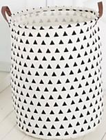 Недорогие -Ткань Круглый Новый дизайн / Геометрический узор Главная организация, 1шт Мешки для хранения