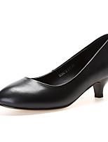 cheap -Women's Shoes Nappa Leather Spring / Fall Comfort / Basic Pump Heels Stiletto Heel Black