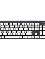 cheap -Factory OEM K310 Cable Keyboards 104 pcs Office Keyboard Spill-Resistant USB Powered powered