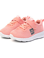 cheap -Girls' Shoes Mesh / PU(Polyurethane) Spring & Summer Comfort Athletic Shoes Walking Shoes for Kids White / Black / Pink
