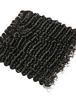 abordables -4 offres groupées Cheveux Indiens / Cheveux Birmans Ondulation profonde Non Traités / Cheveux humains Cadeaux / Costumes Cosplay / Tissages de cheveux humains 8-28 pouce Tissages de cheveux humains