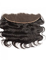 cheap -CARA Body Wave 4x13 Closure Wavy Free Part / Middle Part / 3 Part French Lace Human Hair Women's