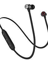 cheap -JTX XRM-x5 In Ear Wireless Headphones Earphone Aluminum Alloy Sport & Fitness Earphone with Microphone / with Volume Control / Magnet Attraction Headset