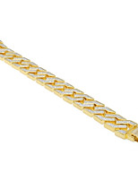cheap -Men's Thick Chain Bracelet - Dragon, Creative Trendy, Casual / Sporty, Rock Bracelet Gold For Street / Bar