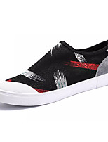 cheap -Men's Light Soles Cotton Spring Loafers & Slip-Ons Gray / Black / Red / Black / Yellow