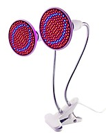 cheap -1pc 20 W 1500 lm E26 / E27 Growing Lamp 200 LED Beads SMD 2835 Full Spectrum / Decorative / Flexible Lamp Holder Clip Red / Blue 85-265 V