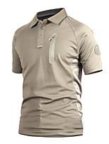 preiswerte -Herrn T-Shirt für Wanderer Außen Rasche Trocknung, tragbar, Atmungsaktivität T-shirt N / A Camping & Wandern / Outdoor Übungen / Mehrere Sportarten