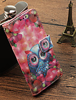 cheap -Case For Huawei Mate 10 pro / Mate 10 lite Card Holder / with Stand / Flip Full Body Cases Owl Hard PU Leather for Mate 10 pro / Mate 10 lite