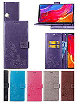 cheap -Case For Xiaomi Redmi S2 / Mi 8 Explorer Wallet / Card Holder / with Stand Full Body Cases Mandala / Butterfly Hard PU Leather for Xiaomi Redmi Note 5 Pro / Xiaomi Mi 8 SE / Xiaomi Mi 6X(Mi A2)