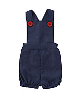cheap -Baby Girls' Solid Colored Sleeveless Overall & Jumpsuit