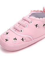 Недорогие -Девочки Обувь Деним Весна & осень Обувь для малышей Кеды для Дети Белый / Синий / Розовый