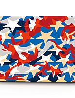 Недорогие -MacBook Кейс Камуфляж пластик для MacBook Pro, 13 дюймов / MacBook Air, 11 дюймов / MacBook Pro, 13 дюймов с дисплеем Retina