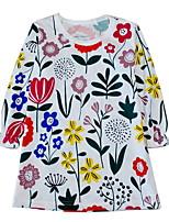 cheap -Kids / Toddler Girls' Striped Long Sleeve Dress