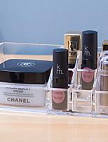 abordables -PP Rectangle Cool Accueil Organisation, 1pc Boîte de Rangement / Rangement de Maquillage