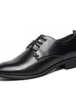 cheap -Men's PU(Polyurethane) Spring Comfort Oxfords Black