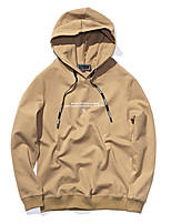 cheap -men's long sleeve hoodie - solid colored hooded
