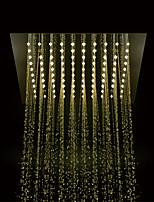 preiswerte -Moderne Regendusche Chrom Eigenschaft - LED / Dusche, Duschkopf
