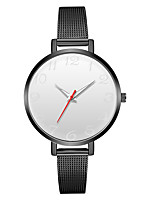 cheap -Geneva Women's Wrist Watch Chinese New Design / Casual Watch / Cool Alloy Band Casual / Fashion Black / Silver