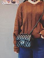 cheap -Women's Bags PU(Polyurethane) Shoulder Bag Solid Black