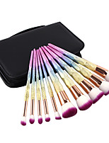 preiswerte -10-Pack Makeup Bürsten Professional Bürsten-Satz- Nylonfaser Umweltfreundlich / Weich Plastik