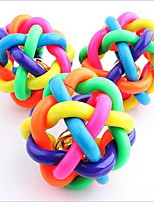 cheap -Chew Toy Fun Plastic & Metal / Plastic For Dogs / Cats